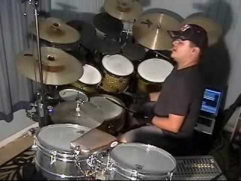 Persiana Americana - drum cover by LuisVera