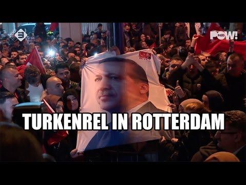 Turkenrel in Rotterdam