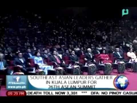 NewsLife: Southeast Asian leaders gather in Kuala Lumpur for 26th ASEAN Summit || Apr. 27, 2015