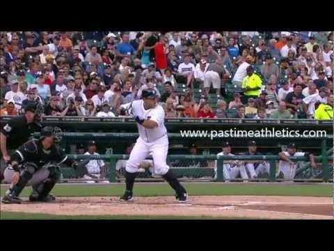 Miguel Cabrera Slow Motion HR Baseball Swing - Hitting Mechanics Instruction Detroit Tigers