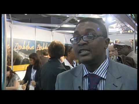 Walter Mzembi (MP) Minister of Tourism, Zimbabwe @ WTM 2009