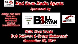 Red Zone Radio Sports 2017 Year End Sports Retrospective
