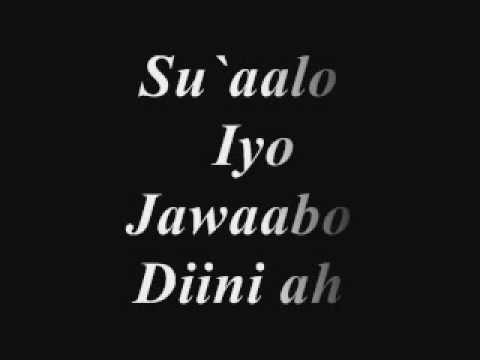 Haasawaha (Shukaansiga)  Saxda ah