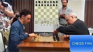 Attack Like Kasparov - Garry Kasparov Crushes Fabiano Caruana at Blitz Chess