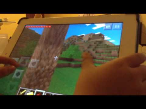 Minecraft PE: multiplayer with creeper girl ( part 1 )