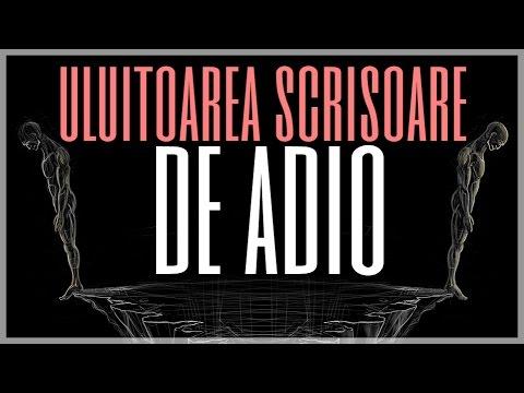 ULUITOAREA SCRISOARE DE ADIO CARE A RUPT INIMI