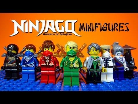 LEGO Ninjago Rebooted Masters of Spinjitzu KnockOff Minifigures Set 2 (Bootleg)