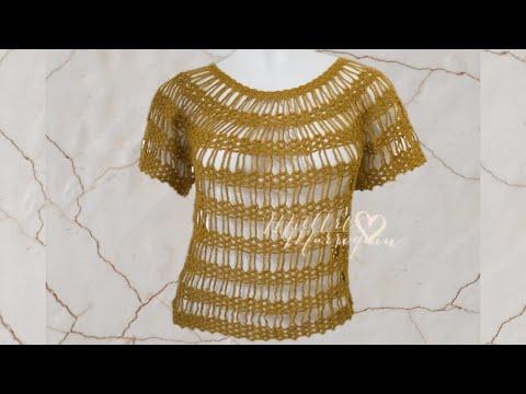 Blusa Lazos de Cadenas Crochet Music Videos