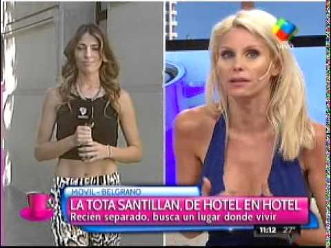 La Tota Santillán se fue de su casa y no tiene dónde vivir