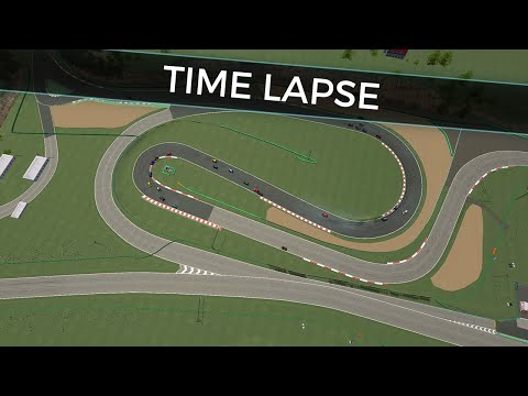 rFactor Abarth Cup - Italy - Vallelunga Time Lapse