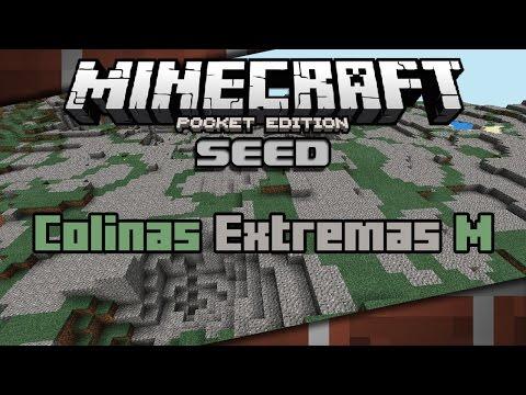Minecraft PE 0.11 Seeds Colinas Extremas M Español 0.11.0