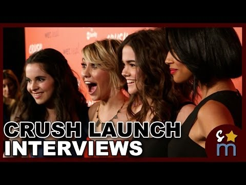 Maia Mitchell & Vanessa Marano Talk Fashion at Crush by ABC Family Clothing Line