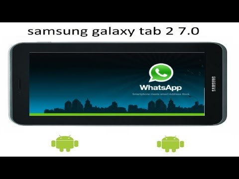 Como instalar whatsapp en tablet android (NO TELEFONO)