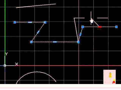 Autocad - 29. Grips - Distintas formas de mover o modificar un objeto o lnea