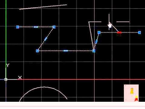 Autocad - 29. Grips - Distintas formas de mover o modificar un objeto o línea