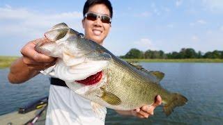 EPIC BASS FISHING TOURNAMENT!!! 1Rod & Jon B. vs. LunkersTV & Andrew Flair