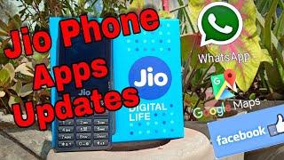 Jio Phone Google Map , Whatsapp , Facebook Updates | Jio Phone Unboxing |