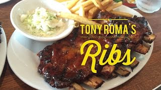 Tony Roma's Baby Back Ribs Glorietta Makati Metro Manila Philippines by HourPhilippines.com