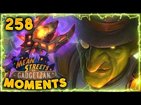 Mayor Noggenfogger OTK Play! | Hearthstone Gadgetzan Daily Moments Ep. 258 (Funny and Lucky Moments)