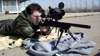 Remington 700 SPS Tactical .308 Shooting