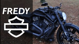 Harley Davidson Night Rod Special by FREDY | Motorcycle Muscle Custom