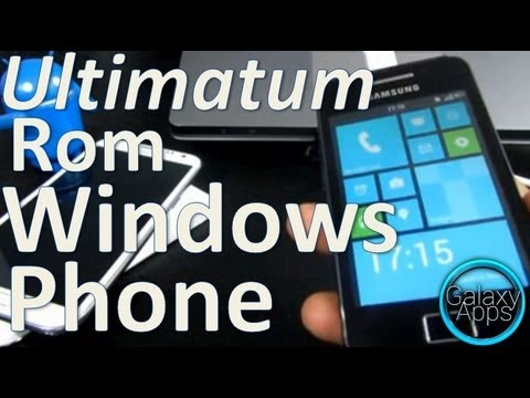 [How to] The Ultimatum Rom para Galaxy Ace - Personalización Windows Phone [02/04] (Español Mx)