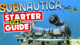 SUBNAUTICA STARTER GUIDE - BUILD A BASE SUPER FAST - FULL GAME XB1/PC