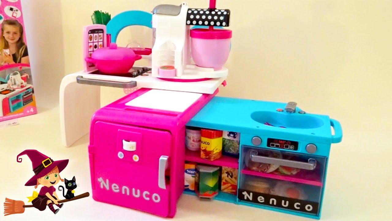 Cocina de nenuco de juguete juguetes para ni as youtube for Juguetes de cocina