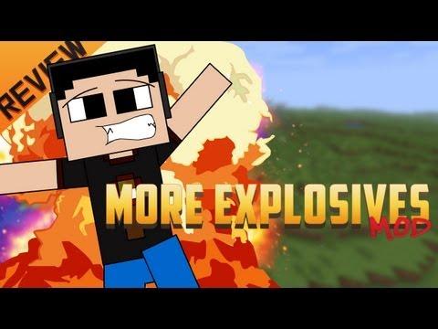 Minecraft para PC: More Explosives Mod para 1.4.5. como Instalar y Review!! (Forge)