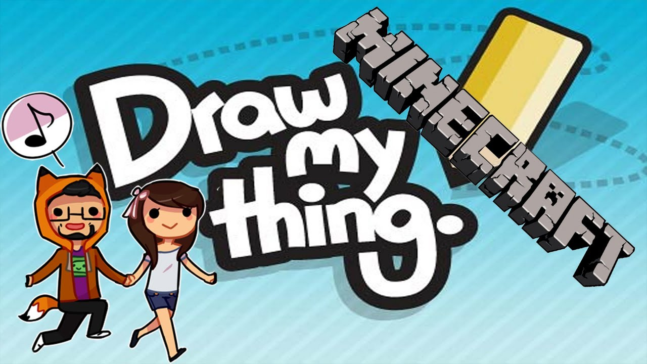 Draw my Thing Drawings Minecraft Mini Game | Draw my