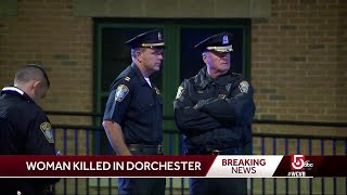 Woman shot to death in Dorchester