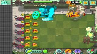 Plants vs. Zombies 2 - (1080p) Walkthrough Gameplay - Piñata Party #10