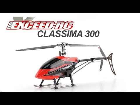 Exceed RC Classima 300 Flybarless Helicopter with Auto Stabilizing Gyro Flight Review