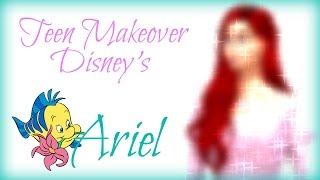 Sims 4 Teen Makeover: Disney Inspired Ariel!