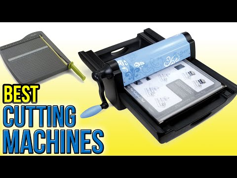9 Best Cutting Machines 2016