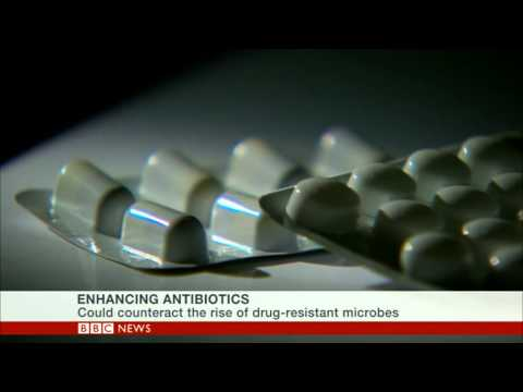 BBC Interview on Potentiation of Antibiotics Using Silver Against Resistant Bacteria