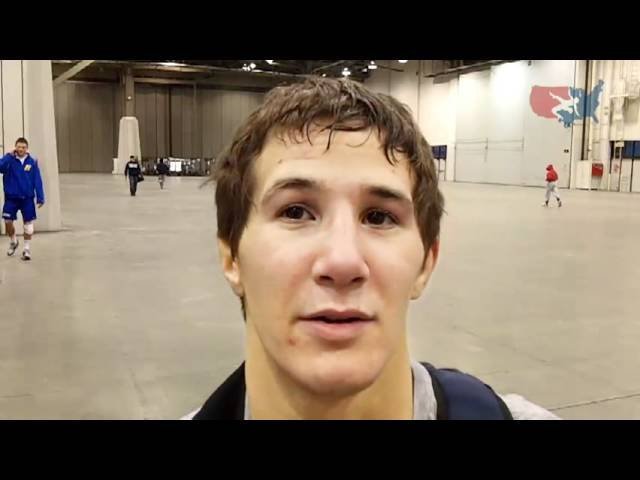 Interview Ohio State's Logan Stieber