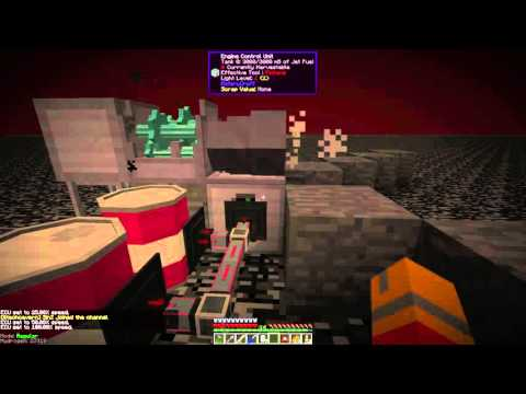 Igniting a RotaryCraft Gas Turbine in (Minecraft Mod)