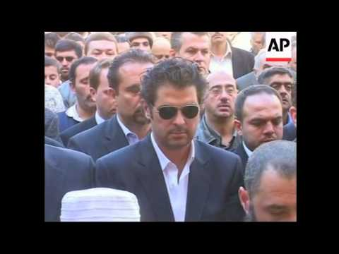 Funeral for daughter of film director Akkad, killed in Jordan blast