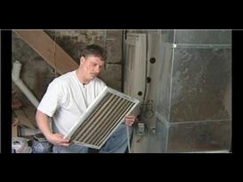 Plumbing &amp  Hvac Maintenance   How To Change Furnace Air Filters