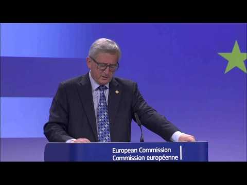 Greece: European Commission President Jean-Claude Juncker