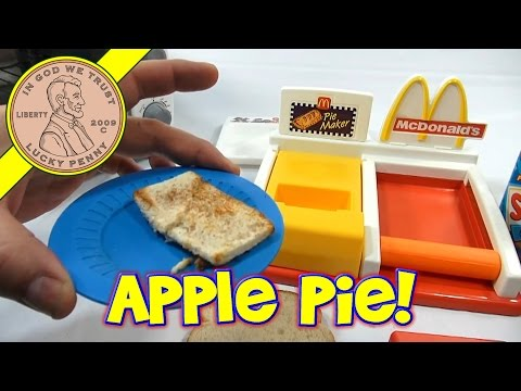 McDonald's Happy Meal Magic Pie Maker Set. 1993 Mattel Toys (Fun Recipes)