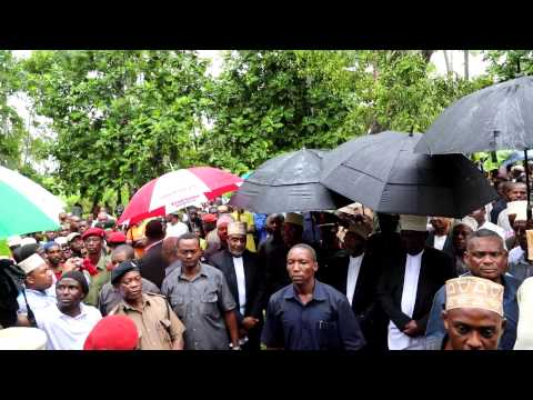 Bi Kidude's State Burial In Zanzibar video