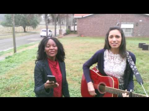 Don't give up Melissa Otto cover by Carolina and Sonia