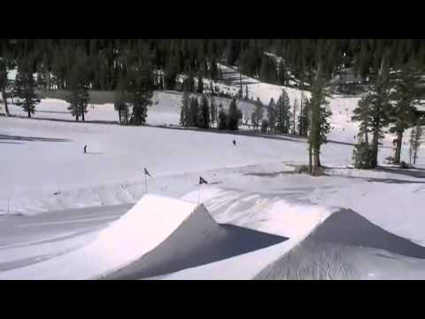 Mammoth Mountain Snowboard Park