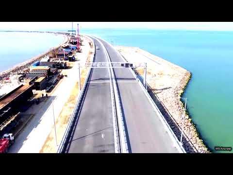 Крымский мост Последние приготовления к открытию