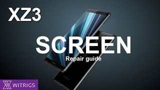 Sony Xperia XZ3 OLED Screen Repair Guide