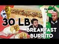 Building a GIANT BREAKFAST BURRITO & TEQUILA FONDUE | Going In