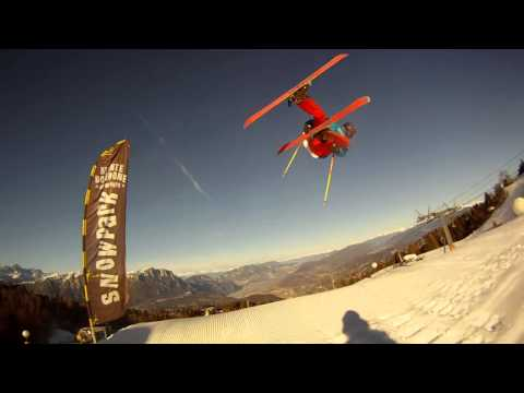 SnowHeadCrew - Luca Tonelli 2013 Snowpark Monte Bondone