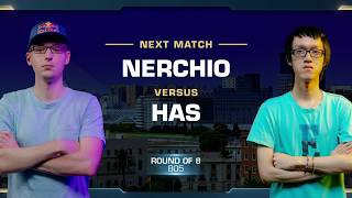 Nerchio vs Has ZvP - Quarterfinals - WCS Valencia 2018 - StarCraft II